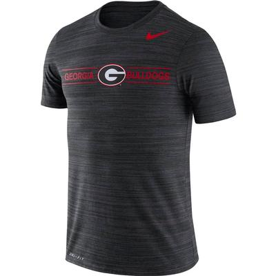 Georgia Nike Men's Dri-fit Velocity Short Sleeve Tee