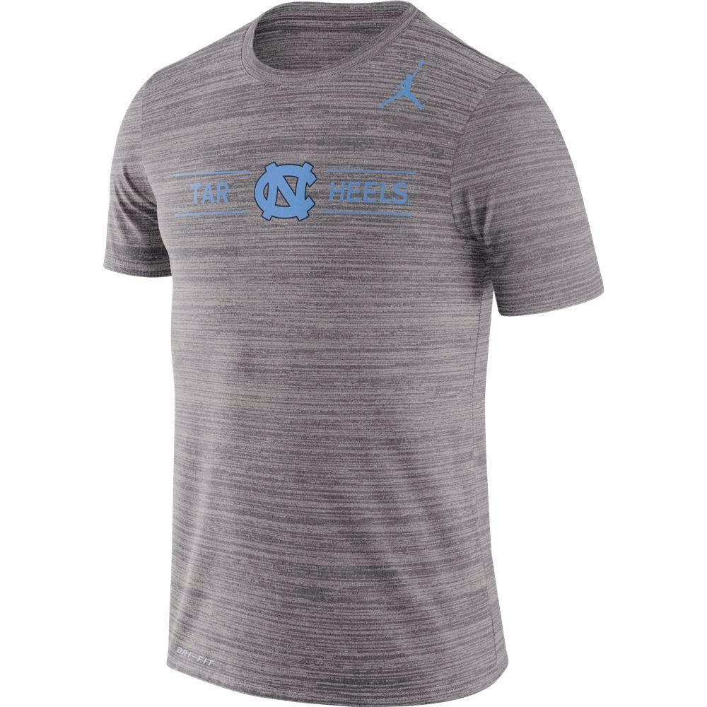 Unc Nike Men's Dri- Fit Velocity Short Sleeve Tee