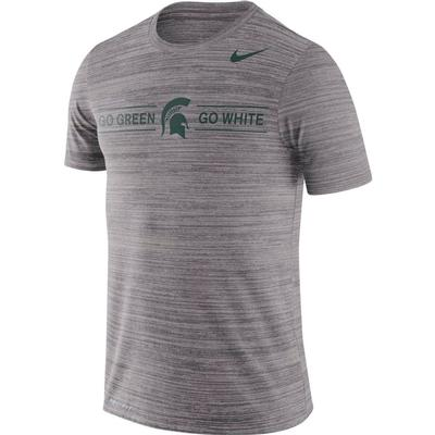 Michigan State Nike Men's Dri-fit Velocity Short Sleeve Tee