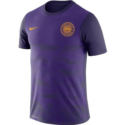 LSU Nike Men's Dri-fit Legend Short Sleeve Tee