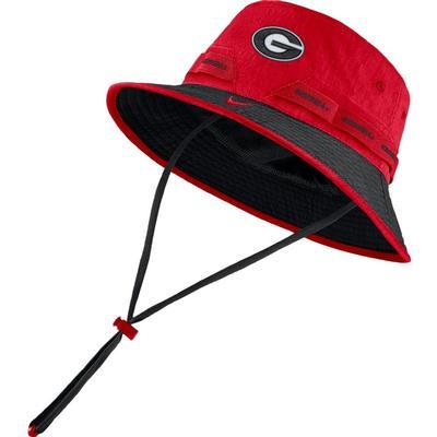Georgia Nike Sideline Dry Bucket Hat
