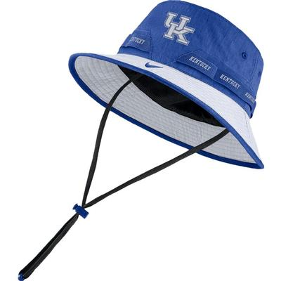 Kentucky Nike Sideline Dry Bucket Hat