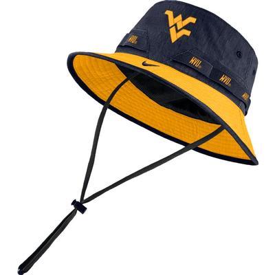 West Virginia Nike Sideline Dry Bucket Hat
