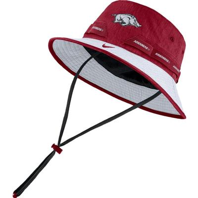 Arkansas Nike Sideline Dry Bucket Hat