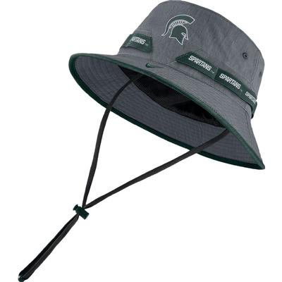 Michigan State Nike Sideline Dry Bucket Hat