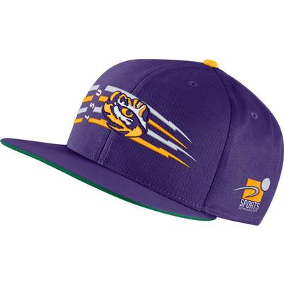 LSU Nike Men's Sports Specialties Pro Flatbrim Hat