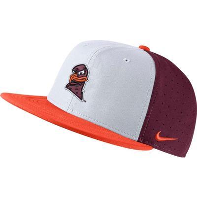 Virginia Tech Nike Men's Hokie Aero True Baseball Fitted Hat
