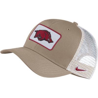 Arkansas Nike Men's C99 Patch Trucker Adjustable Hat