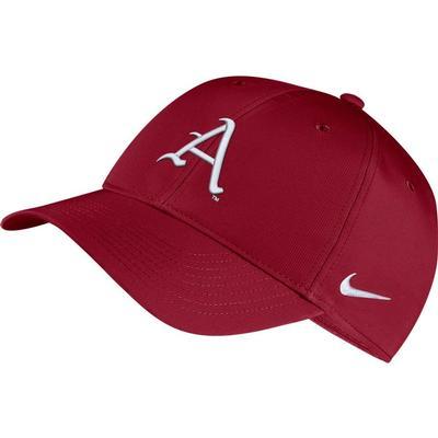 Arkansas Nike Men's Golf Dry L91 'A' Logo Adjustable Cap