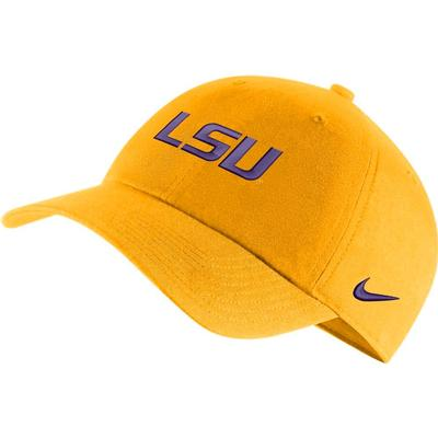 LSU Nike Men's H86 Logo Adjustable Hat