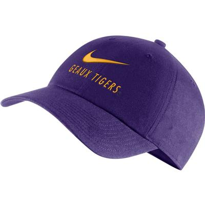 LSU Nike Men's H86 'Geaux Tigers' Adjustable Hat