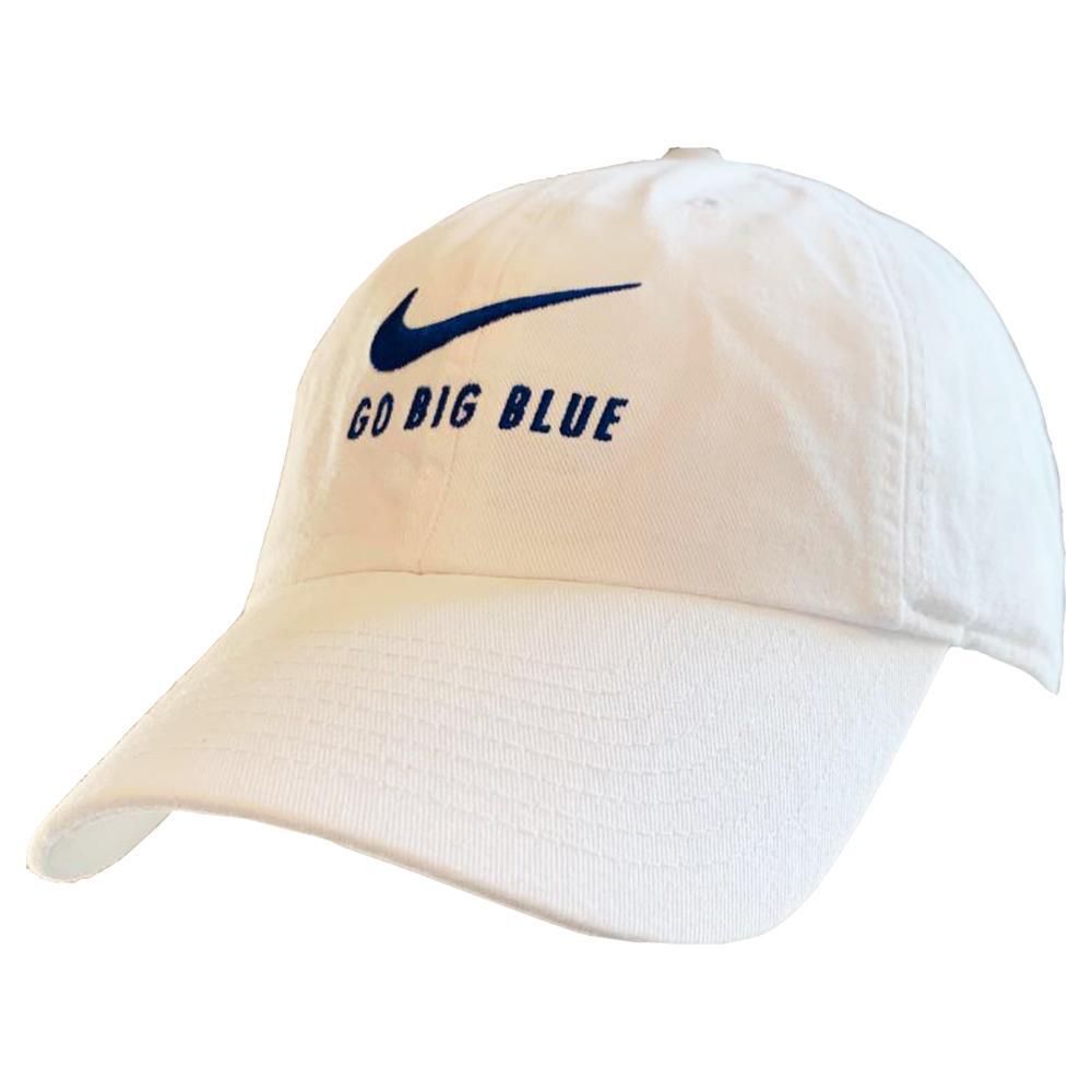 Kentucky Nike Men's H86 Swoosh ' Go Big Blue ' Adjustable Hat