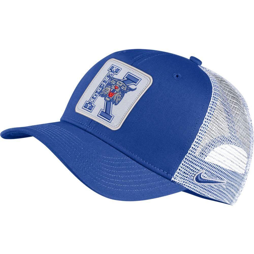 Kentucky Nike Vintage C99 Trucker W/Block Patch Adjustable Hat