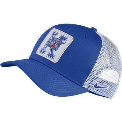 Kentucky Nike Vintage C99 Trucker W/ Block Patch Adjustable Hat