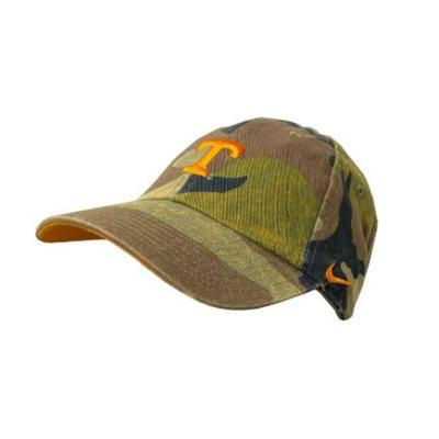 Tennessee Nike Men's H86 Washed Camo Adjustable Hat