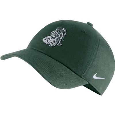 Michigan State Nike Men's Vault H86 Logo Adjustable Hat