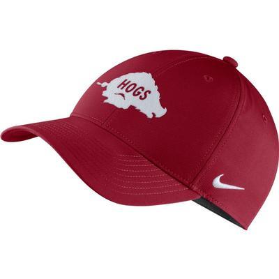 Arkansas Nike Men's Vault Golf Dry L91 Adjustable Hat