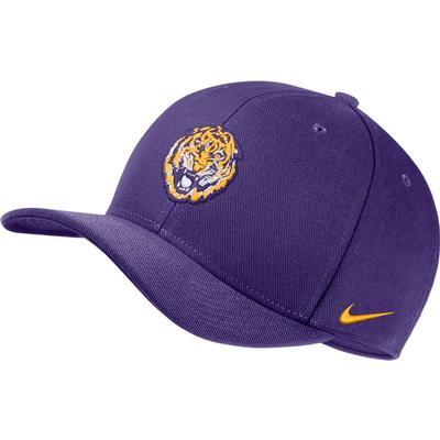 LSU Nike Men's Vault Dry C99 Swoosh Flex Hat