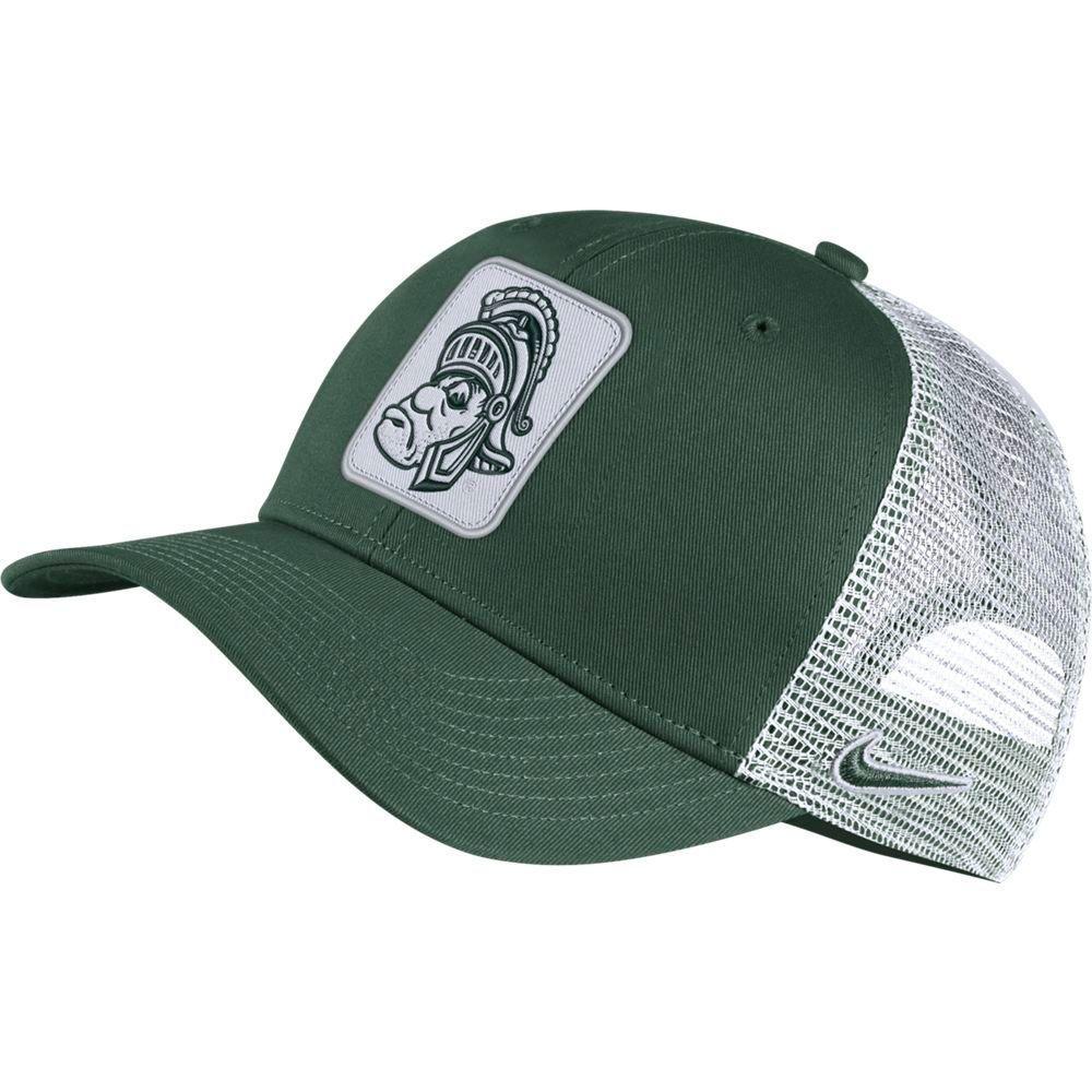 Michigan State Nike Men's Vault Trucker Adjustable Hat