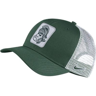 Michigan State Nike Men's Vault Trucker Adjustable Hat