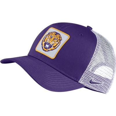 LSU Nike Men's Vault Trucker Adjustable Hat