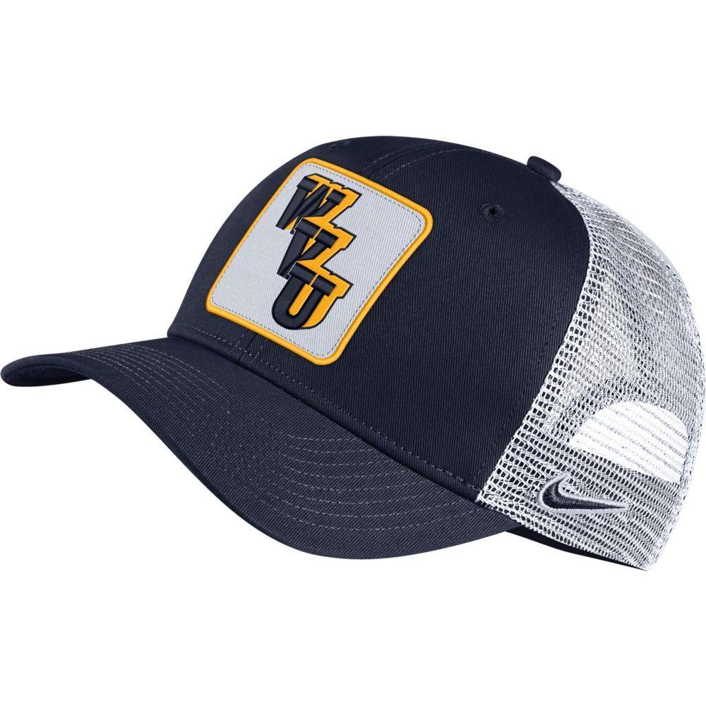 West Virginia Nike Men's Vault Trucker Adjustable Hat