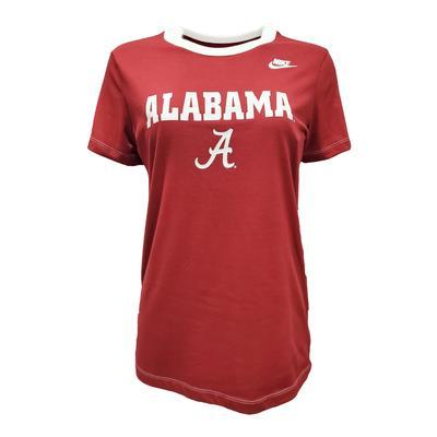 Alabama Nike Women's Dry Crew Tee