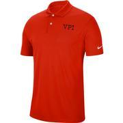 Virginia Tech Nike Golf Vpi Dry Victory Solid Polo
