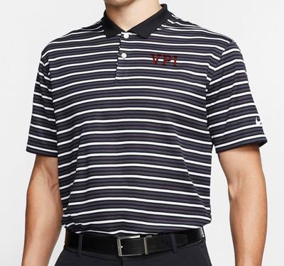Virginia Tech Nike Golf VPI Dry Victory Stripe Polo