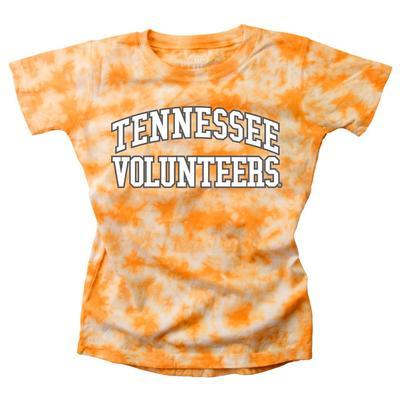 Tennessee Youth Girls Tie Dye Short Sleeve Tee