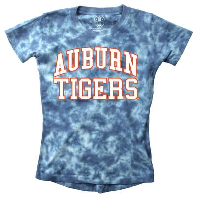 Auburn Youth Girls Tie Dye Short Sleeve Tee