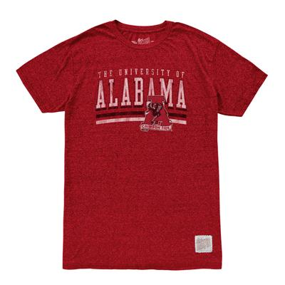 Alabama Men's Retro Brand Mock Twist Tee