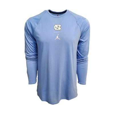 UNC Nike Jordan J23 Alpha Long Sleeve Tee