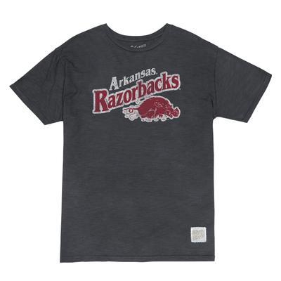 Arkansas Retro Brand Slub Tee