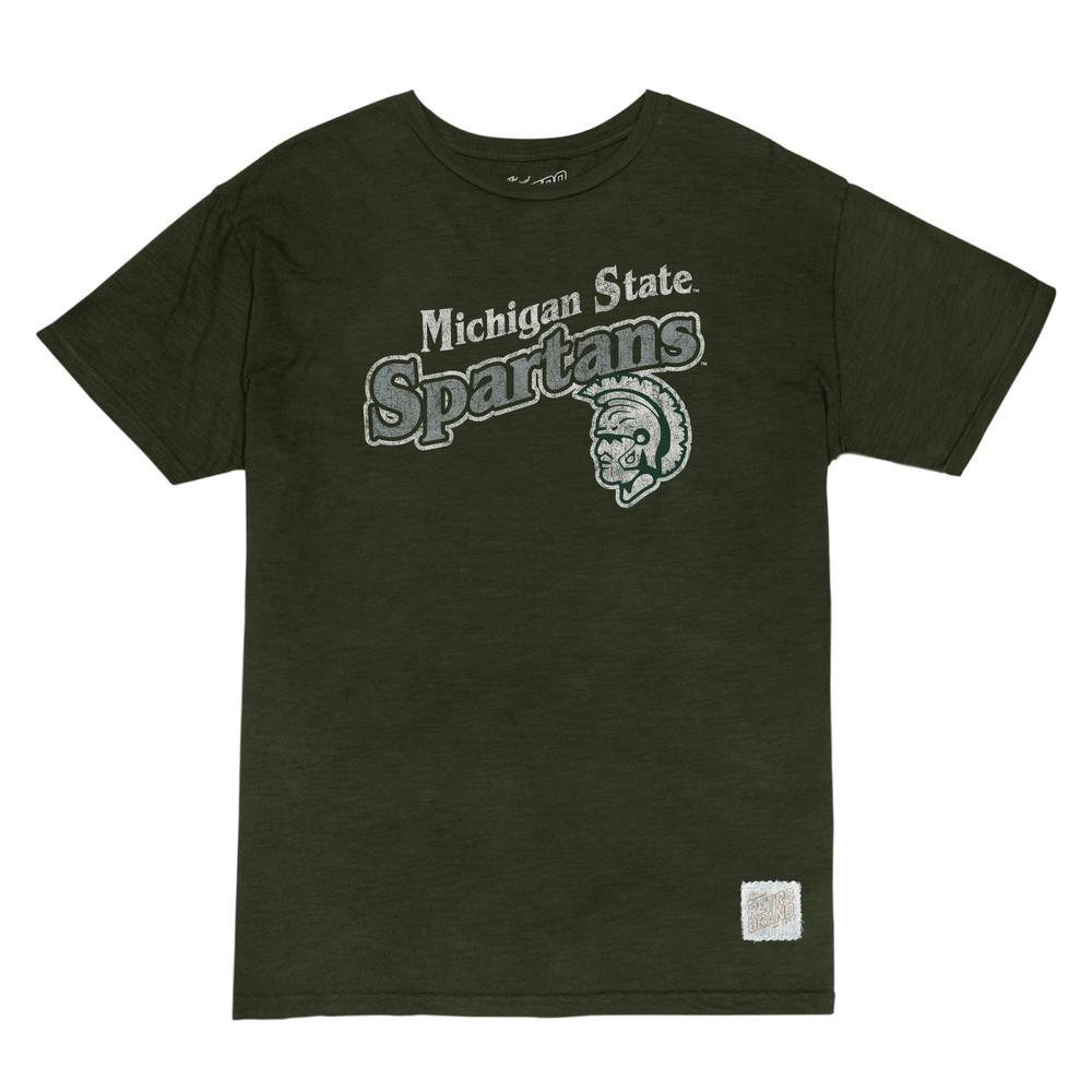Michigan State Retro Brand Slub Tee