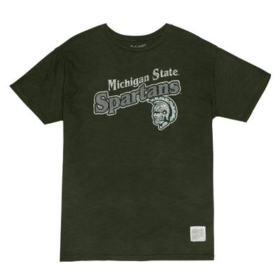 Michigan State Retro Brand Slub Tee