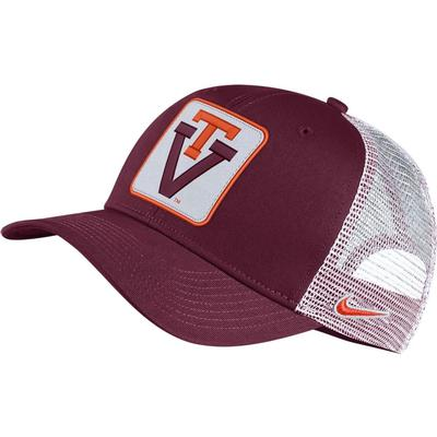 Virginia Tech Nike Vault Patch Adjustable Hat