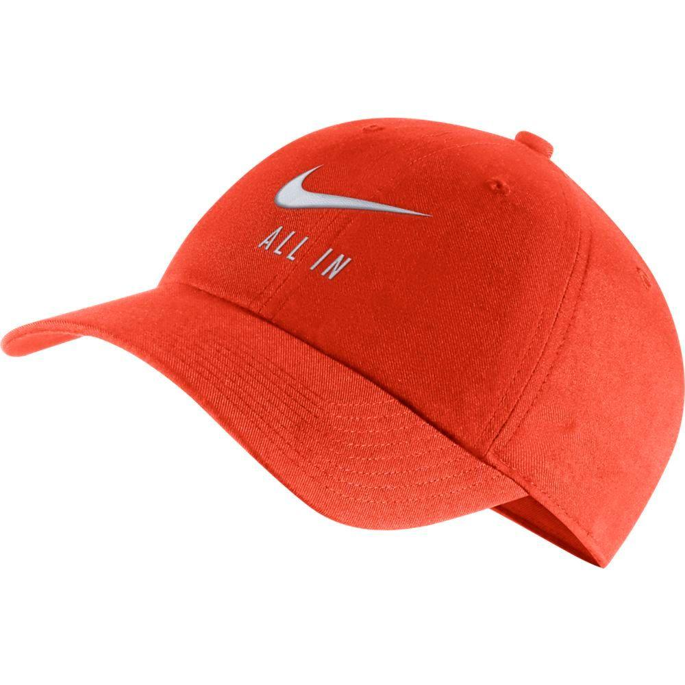 Clemson Nike Men's H86 ' All In ' Adjustable Hat