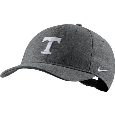 Tennessee Nike Men's L91 Black Chambray Adjustable Hat