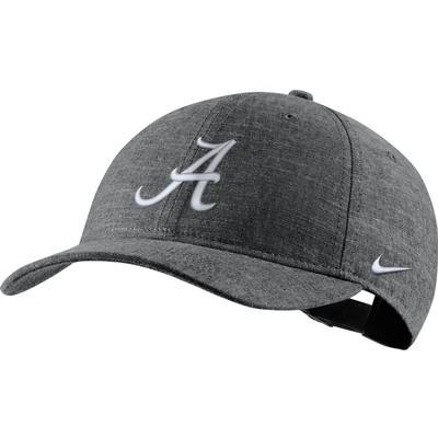Alabama Nike Men's L91 Black Chambray Adjustable Hat