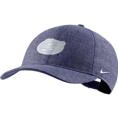 Florida Nike Men's L91 Chambray Adjustable Hat
