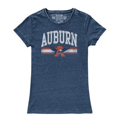 Auburn Retro Brand Women's Vintage Crew Neck