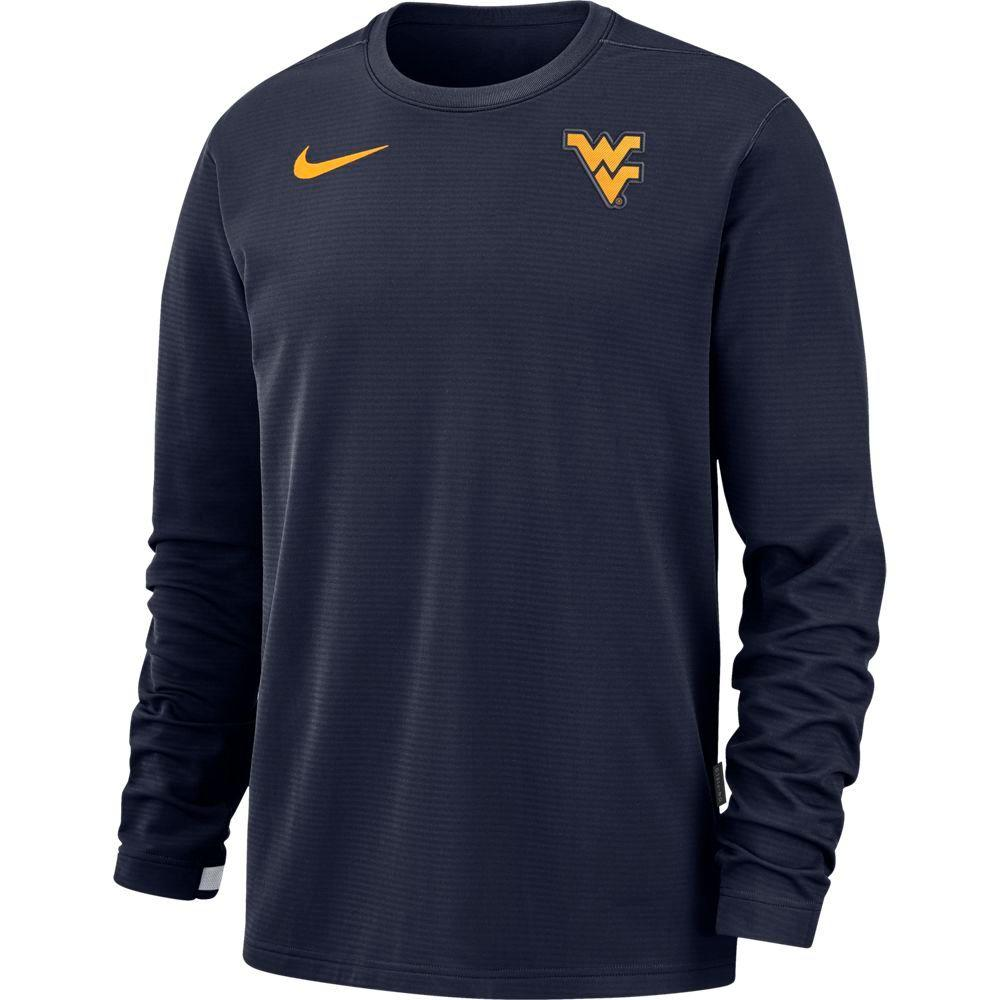 West Virginia Nike Men's Dry Top Crew