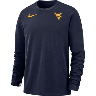 West Virginia Nike Men's Dry Top Crew