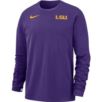 LSU Nike Men's Dry Top Crew