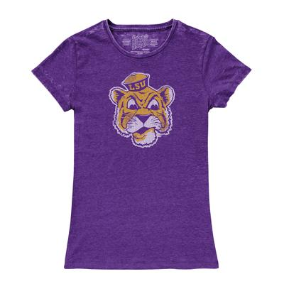 LSU Retro Brand Women's Vintage Crew Neck