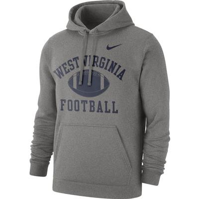 West Virginia Nike Men's Fleece Club Hoodie 2