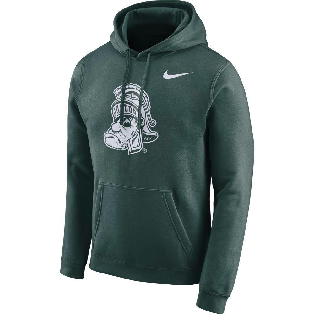 Michigan State Nike Men's Fleece Club Vault Hoodie