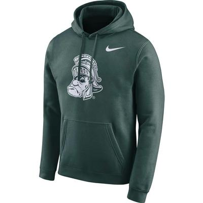 Michigan State Nike Men's Fleece Club Vault Hoodie