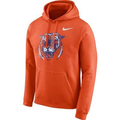 Clemson Nike Men's Fleece Club Vault Hoodie